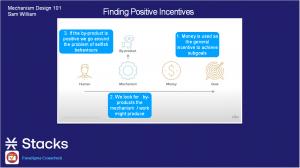 Findind positive incentives diagram