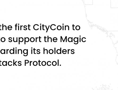 Today's launch of the CityCoin MIA$ in Miami, Fla, USA
